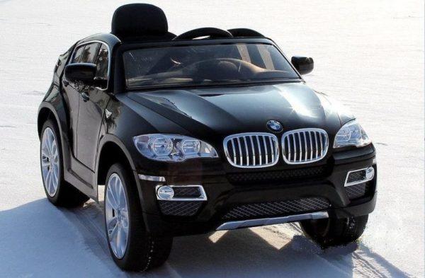 Voiture electrique 12V BMW X6 pour enfant - Noir
