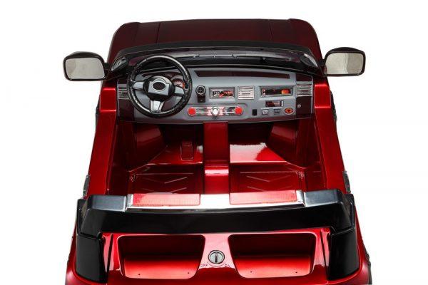 Range-Rover rouge électrique pour enfant