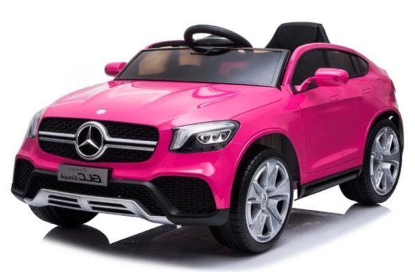 voiture électrique enfant Mercedes glc63 rose