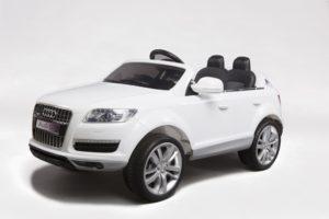 voitures electriques enfants Audi Q7 blanc 12V