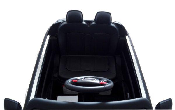 Voiture 4X4 électrique enfant Audi Q7 noir 12V - Siège