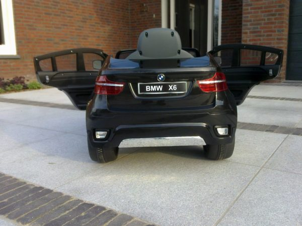 BMW X6 électrique pour enfant - 12V - Vue arrière