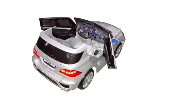 Voiture électrique pour enfant Mercedes ML63 AMG grise