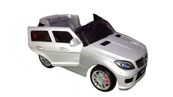 4X4 électrique Mercedes pour enfant ML63 AMG grise