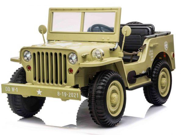 Jeep électrique 2X 12V