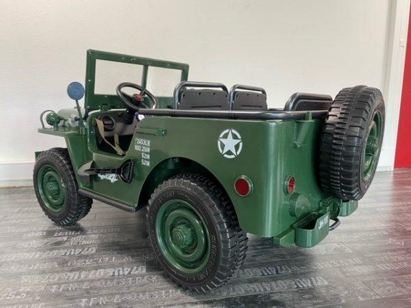 voiture electrique enfant jeep willys