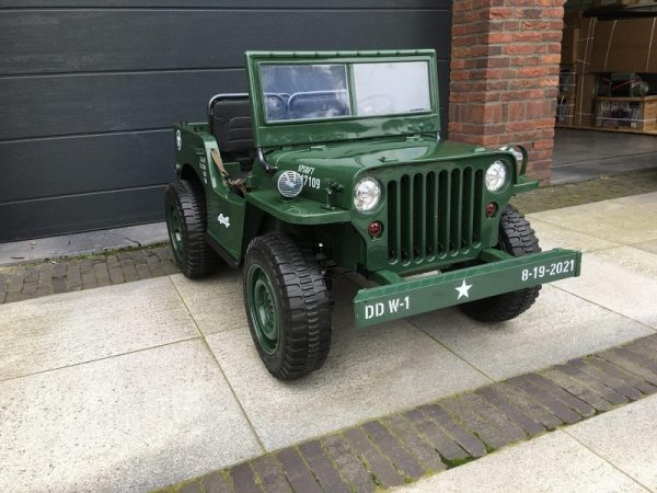 Jeep 12V roue gomme