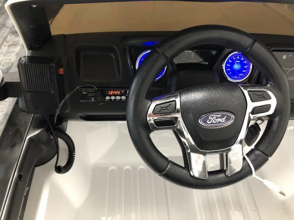 voiture électrique ford ranger raptor police