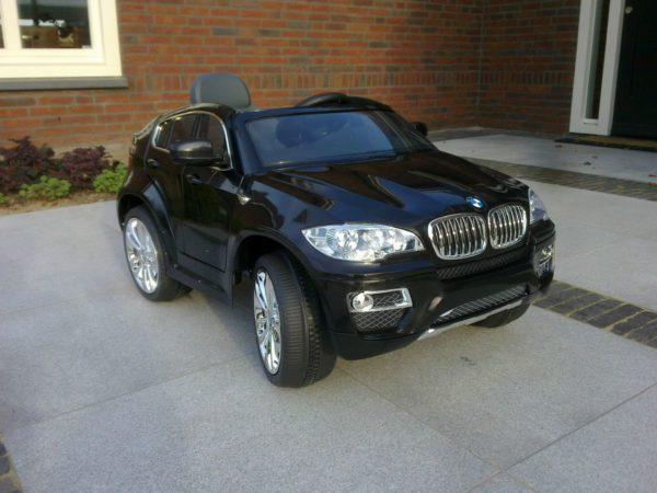 Voiture électrique BMW X6 pour enfant - 12V - Noir