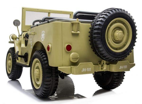 4X4 enfant Jeep beige