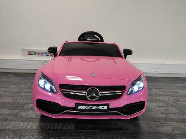 voiture electrique pour fille rose