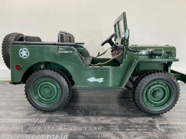 voiture pour enfant jeep willys 12V